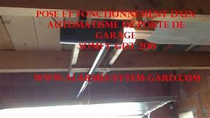 pose et fonctionnement d39un automatisme de porte de garage With automatisme porte garage