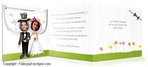 faire part mariage rigolo faire part mariage faire part en ligne création exemples et modèles de faire part de mariage