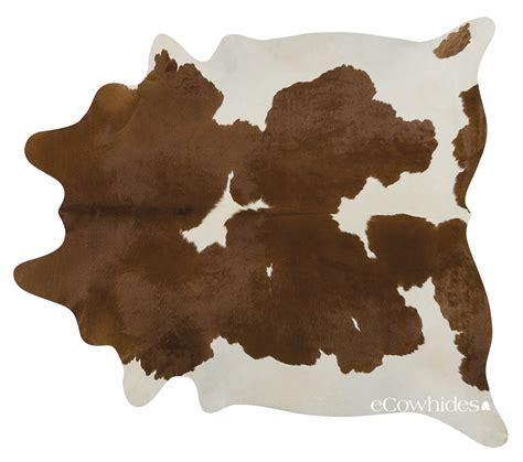 cowhide rug brown and white cowhide rug xl