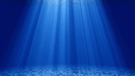 Bright Water Animated Wallpaper - water with light and blue background