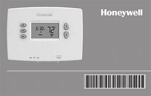 Honeywell Thermostat Rthl2510 User Guide