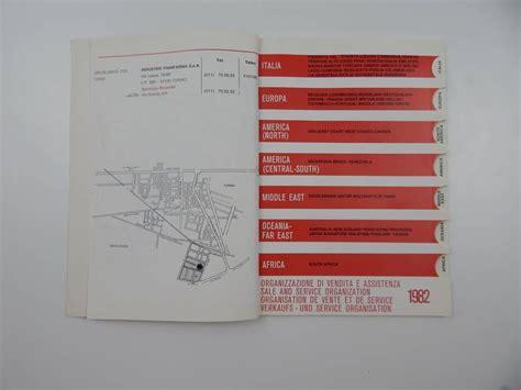 ferrari dealership inside ferrari 1982 dealer directory classic ferrari parts