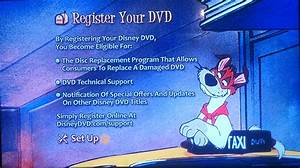 Oliver and Company DVD Menu (Register your DVD) by ...