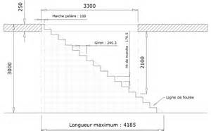 Cote Escalier Standard www le metal net calculer un escalier droit