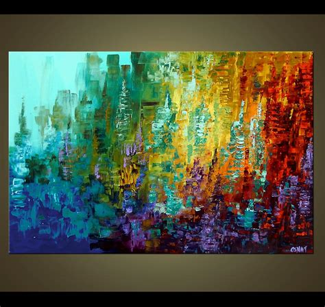 Painting For Sale  Colorful Abstract Painting #4105