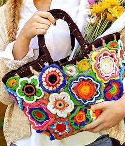 Crochet En S : tejidos artesanales en crochet canasta con adornos de ~ Nature-et-papiers.com Idées de Décoration