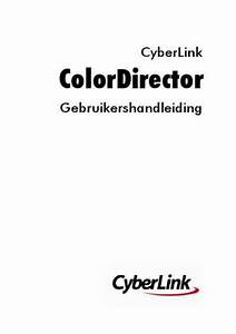 Cyberlink Colordirector Software Download Manual For Free
