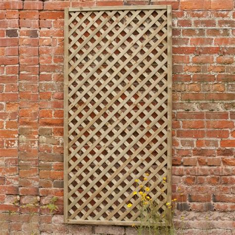 2ft Trellis Fence Panels by 2ft By 6ft 600mm X 1800mm Forest Rosemore Lattice