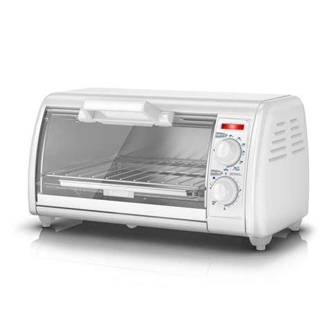 Toaster Oven Toast - black decker toast r oven 4 slice countertop toaster oven