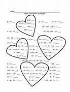 Printable Valentine Worksheets For 2nd Grade Valentine S Valentines Day Picture Patterns With Shape And Size Addition Worksheets For Valentine 39 S Day Free Printable Valentines Math Worksheets Just B CAUSE
