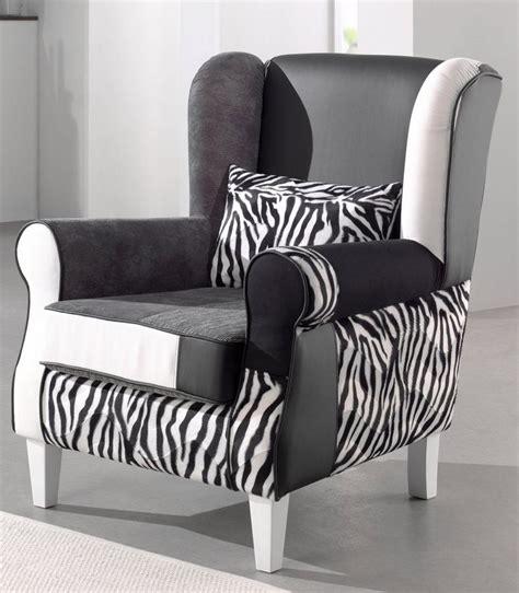 Schwarz Weiß Look by Inosign Patchwork Sessel 171 Angela Plus 187 Mit Zierkissen In