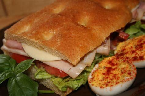 american deli sandwich recipes ciabatta deli sandwiches a hearty italian style sandwich recipe italian food com