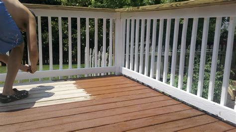 Composite Deck Stain Home Depot