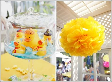 Rubber Ducky Baby Shower Ideas, Cake, And Games Baby