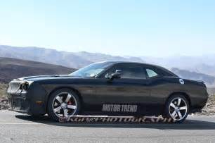 hell cat dodge challenger hellcat prototype side in motion photo 17