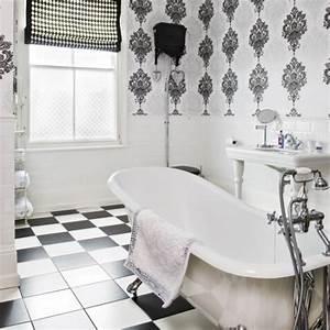 Bathroom wallpaper ideas shelterness