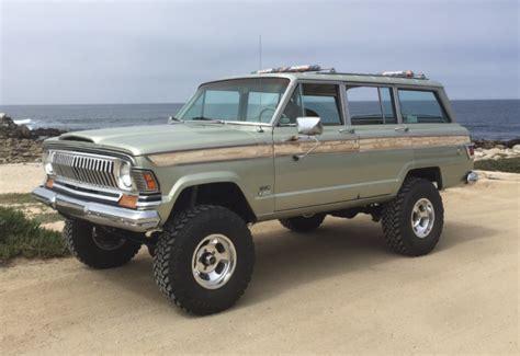 1971 jeep wagoneer 1971 jeep wagoneer custom bring a trailer
