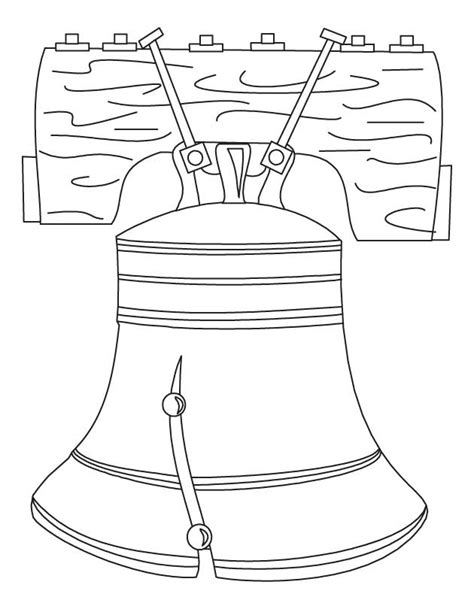Liberty Bell Coloring Page Printable by Liberty Bell Coloring Page Printable Coloring Home