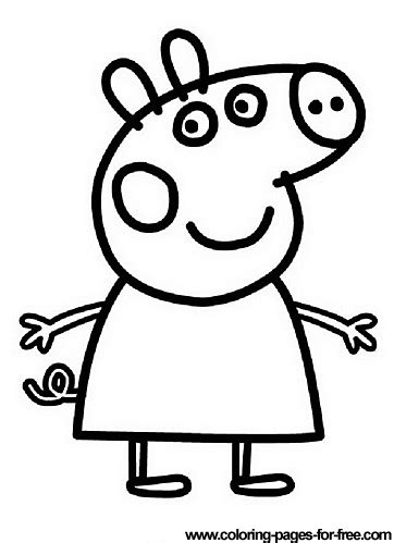 Peppa Pig coloring pages drawing picture 13 Dibujo de