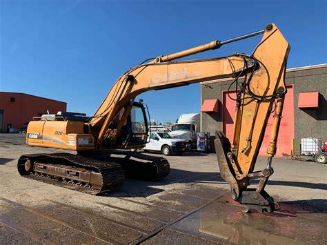 excavator  sale oregon case cx sonsray machinery rentals