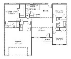 floor plans for homes free house plan j1433 split floor plan