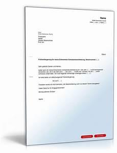 Belege Für Steuererklärung : antrag an das finanzamt auf fristverl ngerung f r die ~ Lizthompson.info Haus und Dekorationen