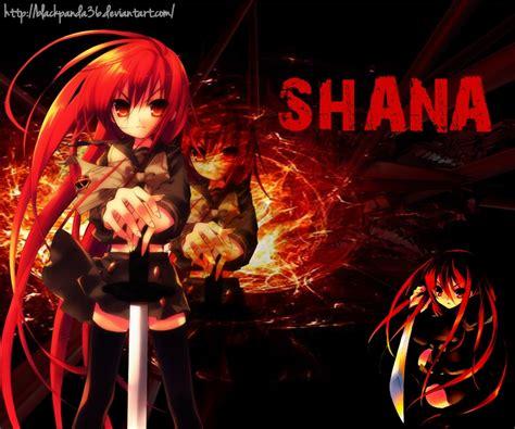 Shana Anime Wallpaper - shakugan no shana wallpaper by blackpanda36 on deviantart