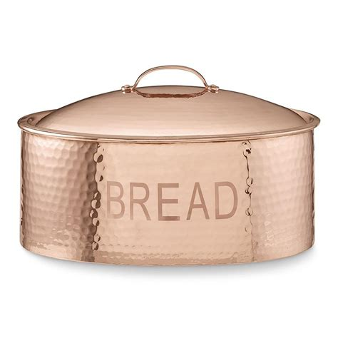 hammered copper bread box williams sonoma au