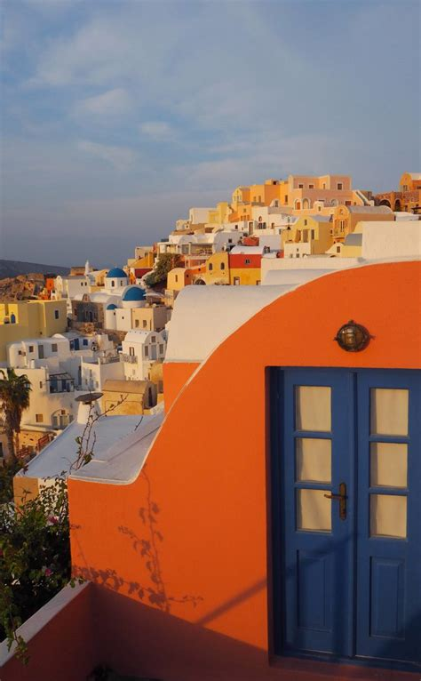 Catching The Sunrise In Oia Santorini Around The World
