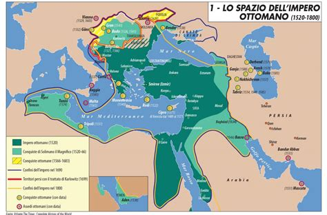 impero ottomano lo spazio dell impero ottomano 1520 1800 limes