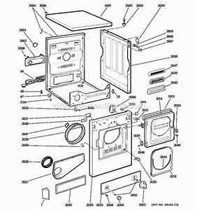 Clothes Dryer  General Electric Clothes Dryer Parts