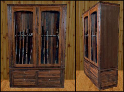 wood gun cabinet casdon wood gun cabinet pdf blueprints and how
