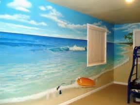 beach mural ideas to paint on divider wall tags beach