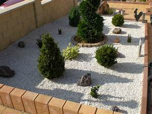 chantier decoration jardin avec cailloux With deco jardin avec cailloux