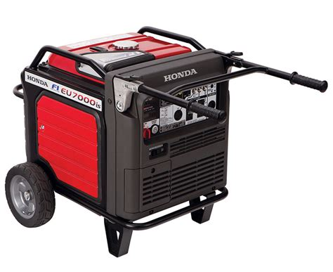 Honda Eu7000iat1 Eu 7000 Watt Portable Inverter Generator