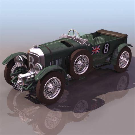 Bentley 8 Litre Luxury Car 3d Model 3ds Files Free