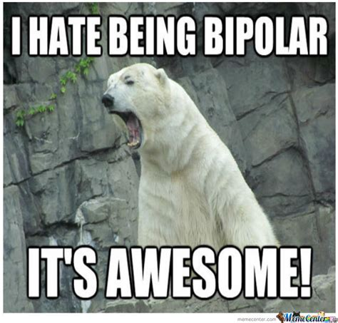 Bipolar Meme - 20 funny memes to lighten up your bipolar friend sayingimages com