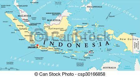 indonesia political map indonesia political map