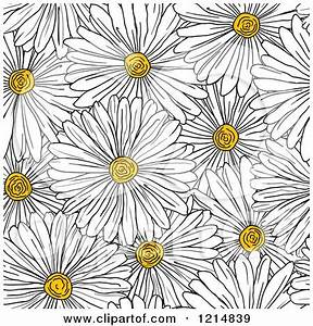 Royalty-Free (RF) Daisy Pattern Clipart, Illustrations ...
