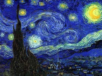 Gogh Starry Night Painting Vincent