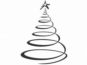 Bilder Schwarz Weiß Gemalt : wandtattoo weihnachtsbaum modern skizziert ~ Eleganceandgraceweddings.com Haus und Dekorationen