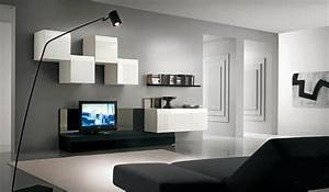 Graue Wandfarbe Wohnzimmer : die neuen trendigen wandfarben im wohnzimmer ~ Markanthonyermac.com Haus und Dekorationen
