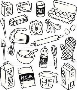 Soda Zum Backen : a baking themed doodle page malen pinterest kritzeleien zeichnen und doodle ~ Frokenaadalensverden.com Haus und Dekorationen