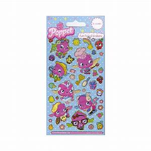 Moshi Monsters Poppet Dress Up Foil Stickers