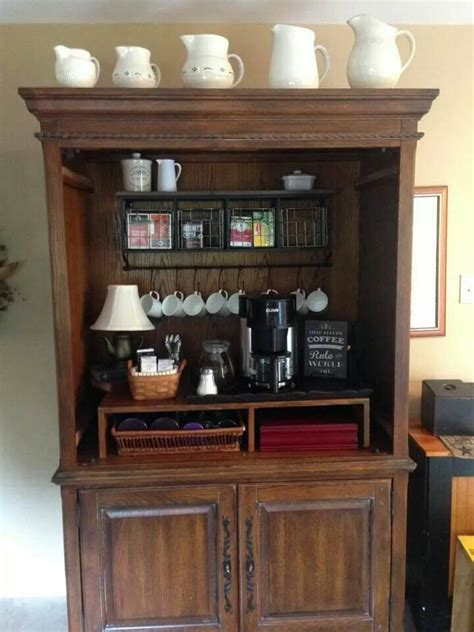 20 Handy Coffee Bar Ideas for Your Home   DIY   Pinterest