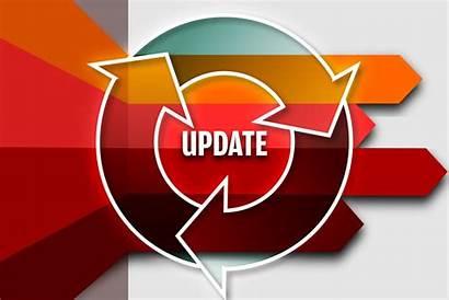 Updates Windows Monthly Update Background Microsoft Orange