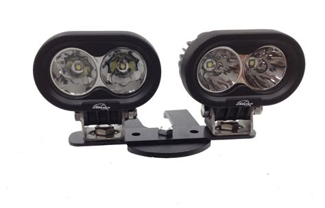 atv light kit lazer lights offering led light handlebar kits for
