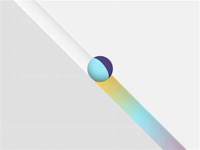 Ball Rolling Kinetic Energy Dribbble Gifs Animation