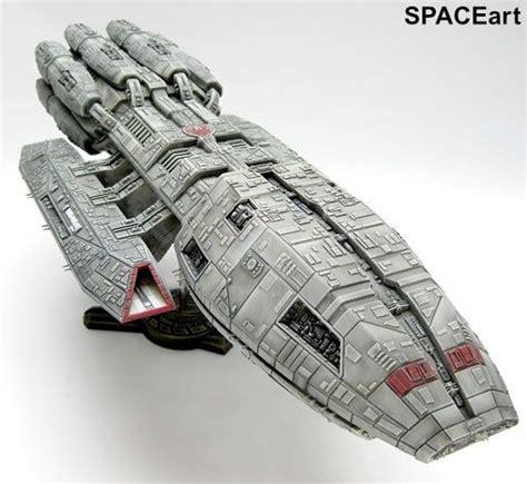 Battlestar Galactica: Pegasus, Fertig-Modell, BurTECH ...