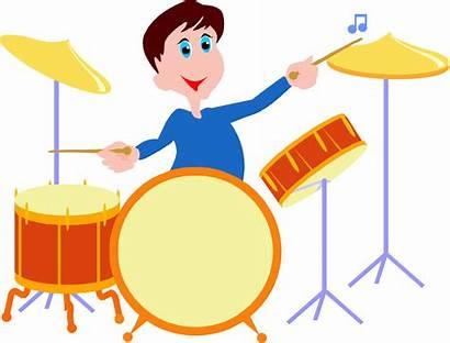 Drums Clipart Drum Cartoon Playing Clip Transparent